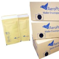 Aeropost Gold Padded Envelopes 100 x 165mm AP1